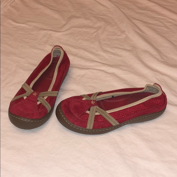 f91c38f799a8e Terrasoles Shoes - Red Terrasoles Size 8 Slip on-Offer Bundle to Save